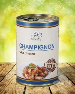 Champignon with chicken