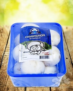Champignon for barbecue