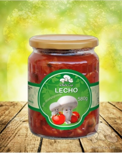Lecho with champignons